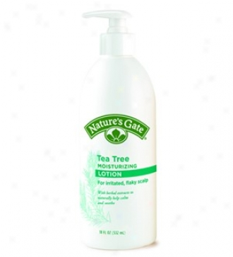 Nature's Gate's Sin Therapy Tea Tree Lotion 18oz