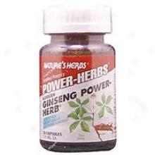 Nature's Herbs Power Herbs Korean Ginseng 50caps