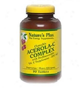 Nature's Plus Acerola-c Complex Chewable 500mg 90tabs