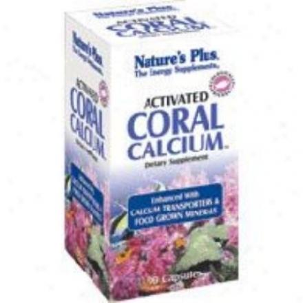 Nature's Plus Activated Coral Calcium 90tabs
