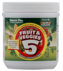 Nature's Plus Animal Parade Fruit & Veggies 5 (0.57oz)