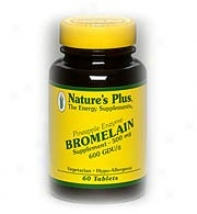 Nature's Plus Bromelaiin 500mg 6Otabs