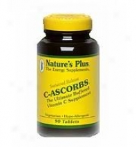Nature's Plus C-ascorbs Sustained Release 90tabs