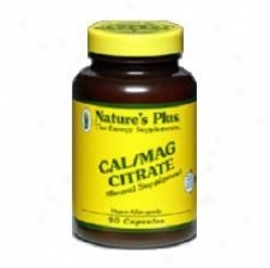 Nature's Plus Cal/mag Citrate 500/250 90caps