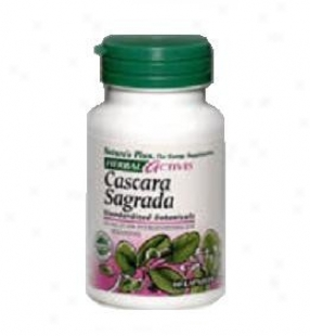 Nature's Plus Cascara Sagrada 100mg 60caps