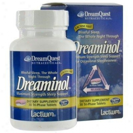 Nature's Plus D.q. Dreaaminol Maximum Strength Slumber Support 30tabs