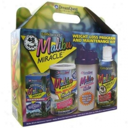 Nature's More D.q. Maliby Miracle Weight Forfeiture Ki t1kit