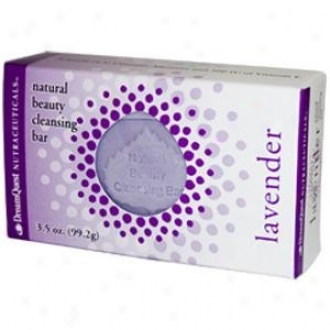 Nature's Plus D.q. Natural Beauty Cleansing Bar Lavender (99.2 G) 3.5oz