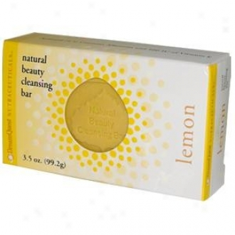 Nature's Plus D.q. Natural Beauty Cleansing Bar Lemon (99.2 G) 3.5oz