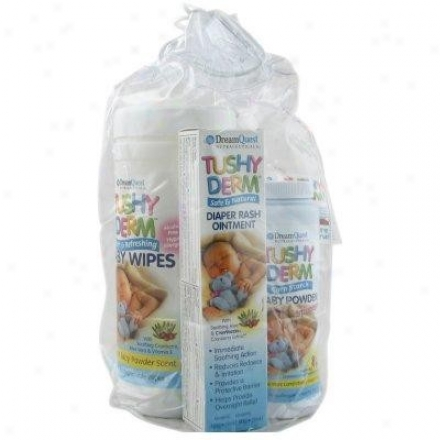 Nature's Plus D.q.-Tushy Derm Babby Gift Set 3pcs
