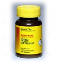Nature's Plus Dyno-mins Iron 27mg 90tabs