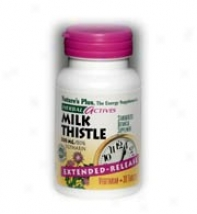 Nature's Plus Extended Release Milk Thistle 50mg 30caps