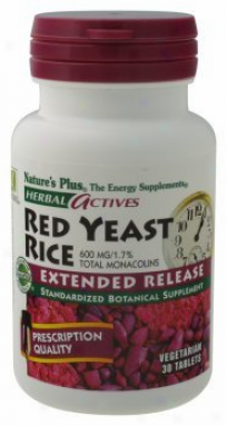Nature's Plus Extended Liberation Red Yeast Rice 600mg 30tab