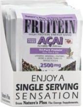 Nature's Plus Friutein High Protein Energy Shake 8pkts