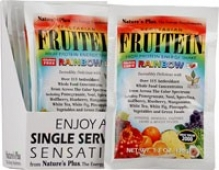 Nature's Plus Fruitein Rainbow High Protein Energy Shake 1.3oz/8pkg