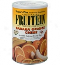 Nature's Plus Fruitein Vegetarian Banana Orange Creme Shake 2.8lb