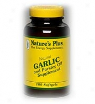 Nature's Plus Garlic & Parsley Oil 180sg