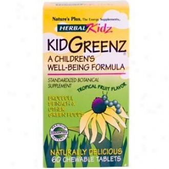 Nature's Plus H.k. Kidgreenz 60tabs