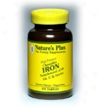 Nature's Plus Iron 40mg 90tabs