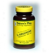 Nature's Plus L-arginine 500mg 90caps