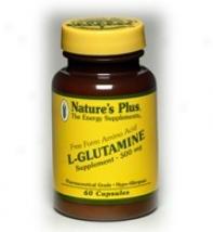 Nature's Plus L-glutanine 500mg 60caps