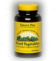 Nature's Plus Mixed Vegetables 180tabs