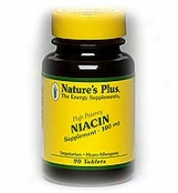 Nature's Plus Niacin 100mg 90tabs