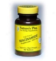 Natture's Plus Niacinamide 500mg 90tabs