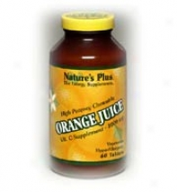 Nature's Plus Orange Juice C 1000mg Chewable 60tabs