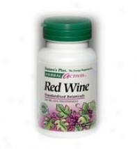 Nature's Plus Red Wine 500mg 60caps