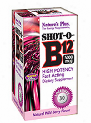 Nature's Plus Shot-o-b12 30loz