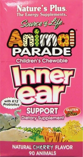 Nature's Plus Source Of Animation Animal Parade Inner Spike Support Chew 90tabs