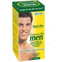 Natures Plus Source Of Life Men W/saw Palmetto, Lycopene & Lutein