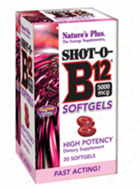 Nature's Plus Source Of Life Shot-o-b12 30sg