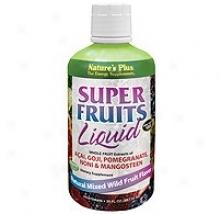 Nature's Plus Super Fruits Liquid 8 Fl Oz
