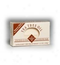 Nature's Plus Tea Tree Oil Antiabcterial  Bar 3.5oz
