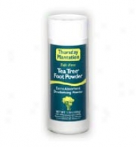 Nature's Plus T.p. Tea Tree Foot Powder 100gm
