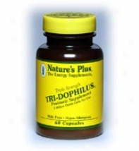 Nature's Plus Tri-dophilus Milk Feeee 60caps
