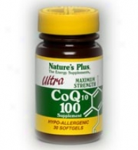 Nature's Plus Ultra Coq10  100mg 30sg