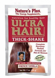 Nature's Plus Extreme Hair Thick Shake 8pks