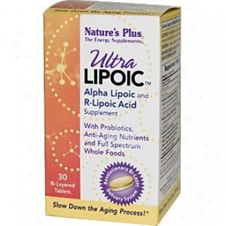 Nature's Plus Ultra Lipoic Acid Bi-layered 30tabs