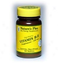 Nature's Plus Vitamin B-2 100mg 90tabs