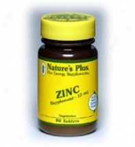Nature's Plus Zinc 10mg 90tabs