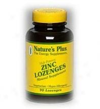 Nature's More Zinc Lozenges 90lzgs