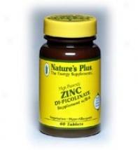 Nature's Plus Zinc Picolinate W/ Vitamin B-6 60tabs