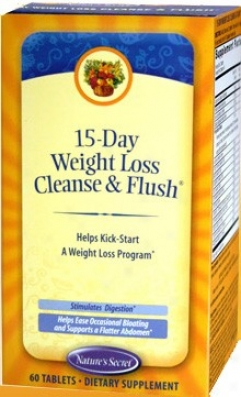 Nature's Secret's 15-day Weight Loss Cleanse & Redness 60tabs