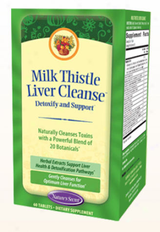Nature's Secret's Milk Thistle Liver Cleanse (formely Ultimate Liver Cleanse) 60taba