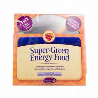 Nature's Secret's Super Green Energy Food 300tabs