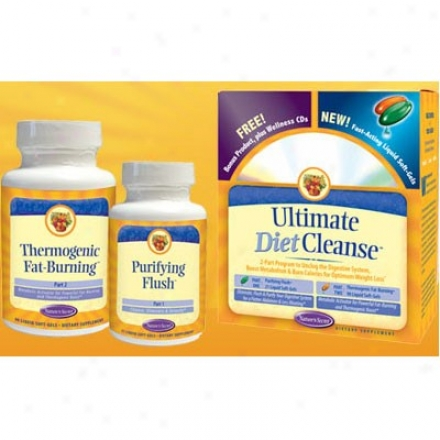 Nature's Secret's Ultimate Diet Purify 2part Program 1kit