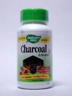 Nature's Custom - Activated Charccoal 260 Mg 100 Caps